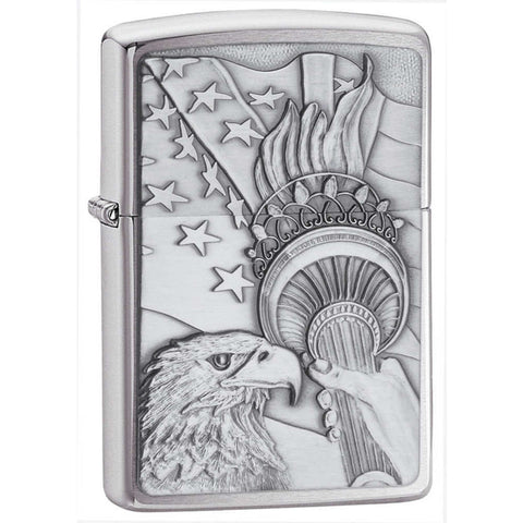 Patriotic Eagle Pocket Lighter