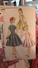 Reserved listing for Carle Noa --silk polyester Nepturn  fabric dress size 7 with the pattern mailed in