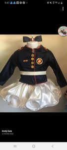 custom listing for Alicia Gomes Marine jacket