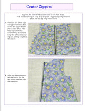 How to put in a Zipper tutorial -- Learn to Sew