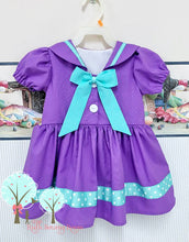 sailor dress you pick the colors custom children sizes
