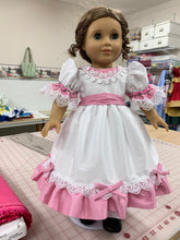 "Nutcracker Ballerina Clara Dress, Poly Silk DUPIONI, 18"" American Girl Dress"
