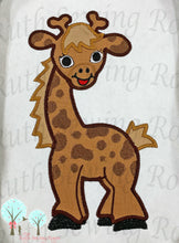Giraffe Safari Animals Applique  - Embroidery Design by Ruth Sewing Room