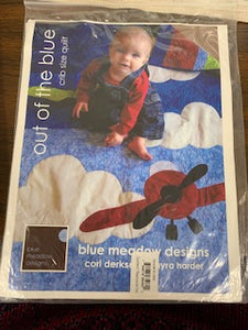 Out of the Blue Crib size quilt Pattern