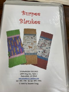 Burpee Blankee by Strawberry Patches Pattern