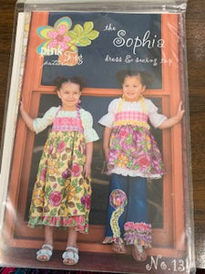 Pink Fig The Sophia  Pattern sizes 6m - 10
