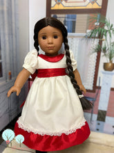 "Ballerina Clara Dress,Victorian era - Poly Silk DUPIONI, 18"" American Girl Dress OOAK READY TO SHIP"