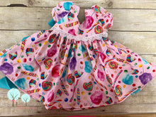 Candy Land Dress -- DRESS ONLY  ---OCC  - Pageant  Wear Theme Wear  Custom Sizes