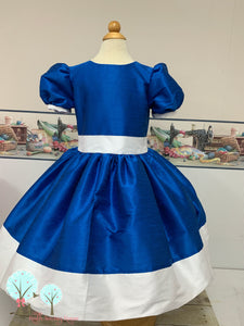 Flower Girl Dress  Silk DUPIONI, Christmas Party Dress, Other Colors Available