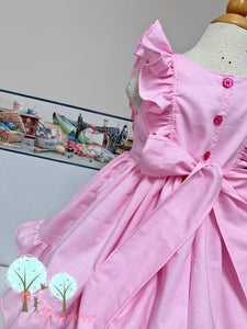 Flutter Sleeves Ruffles dress custom sizes made in USA