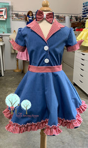 Pageant OOC, 50's costume,  Retro 1950 Inspired Dress – Children sizes
