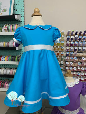 RTS size 18m/24m/2t  OOAK Interview dress