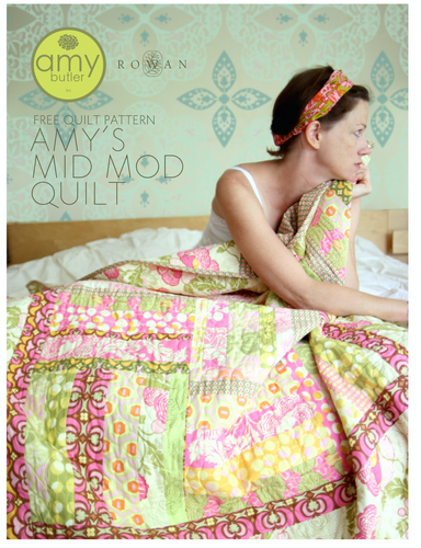 Amy's Butler Mid Mod Quilt