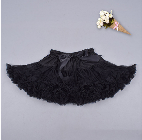Pettiskirt --Chiffon --Tutu--Inspired --Black
