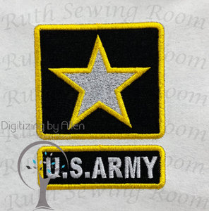 u.s. army logo, army, military embroidery, soldier, sergeant