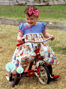 Cowgirl Dress, Retro Cowgirl Dress, Cowgirl Birthday Dress, Western Birthday, Girls Rodeo Dress, Pageant Wear, Retro Cowboy, Pick the Style