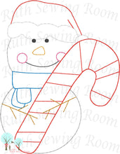 Christmas Vintage Stitch Snowman - Reindeer -  Bear - Set - Embroidery  Design Instant download Machine Embroidery - This is NOT a PATCH