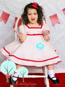 ShirleyTemple Inspired Dress, Shirley Dress, Shirley Costume, Baby Doll Dress,  Pageant Dress, Birthday Dress, School Play, Pick your Color