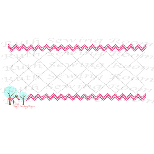 Faux Trellis Smocking Stitch  Ric-Rac Stitch  Embroidery Design Instant download Machine Embroidery,  --  This is NOT a PATCH!   Embroidery Design Instant Download Machine Embroidery - This is NOT a PATCH!