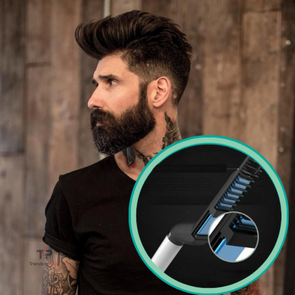 Premium Beard Straightening Comb - Health