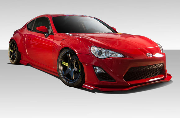 Duraflex 2013-2016 Scion FR-S Duraflex GT500 Wide Body Kit – 12 Piece