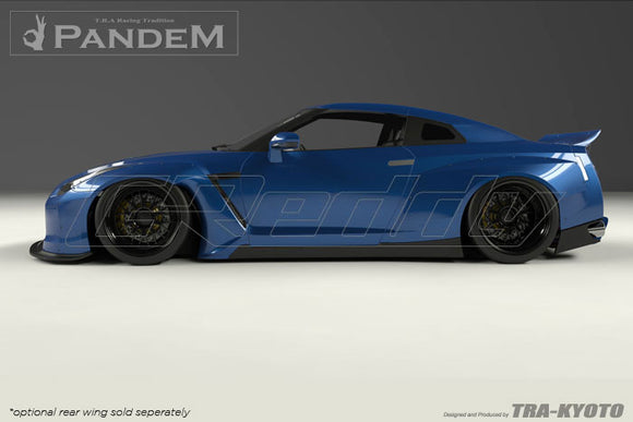 Rocket Bunny Pandem R35 V2 Side Skirts (Dc)