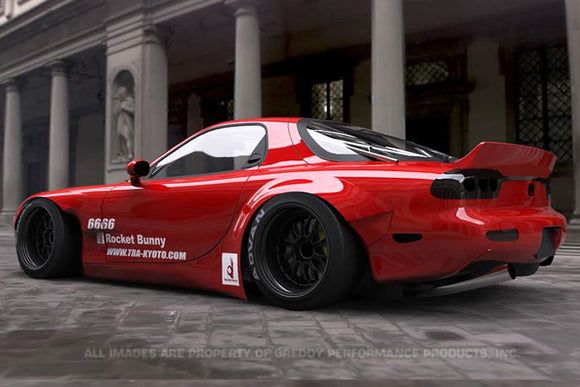Rocket Bunny Fd3S V2 Rear Fenders