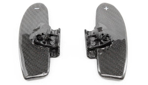 Carbon Fiber Shifter Paddles for BMW E46 3 Series