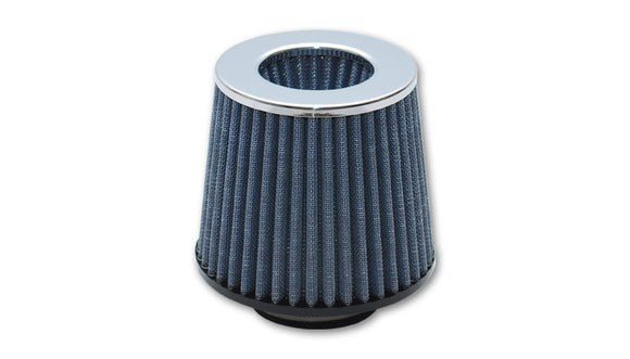 Vibrant Open Funnel Performance Air Filter (2.5″ inlet I.D.) – Chrome Cap