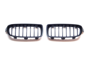 Black Kidney Grilles for BMW F30 3 Series (Pre-LCI)
