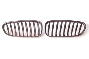 Black Kidney Grilles for BMW E85/E86 Z4