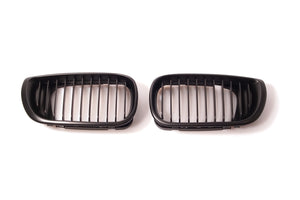 Black Kidney Grilles for BMW E46 3 Series Sedan (LCI)