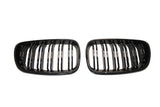 Black Kidney Grilles for BMW F22 2 Series