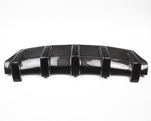 Agency Power Carbon Fiber Rear Diffuser Porsche 991 Turbo 14-15