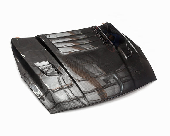 Agency Power Carbon Fiber Vented Hood Nissan R35 GT-R 09-16