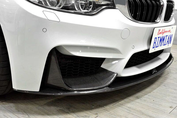 Carbon Fiber Front Bumper Splitters / Flippers for BMW F8X M3/M4