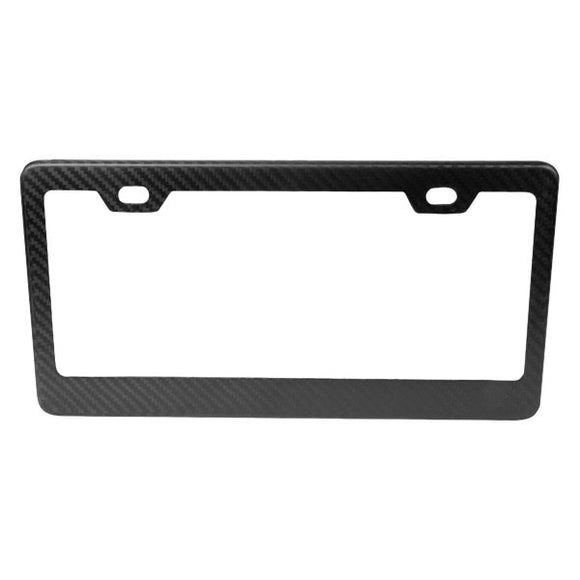 NRG Dry Carbon Fiber License Plate Frame