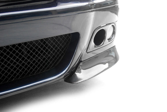 Carbon Fiber Front Bumper Splitters for BMW E46 M3