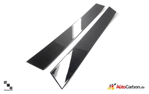 Carbon Fiber Pillar Trim for BMW F01/F02/F04 7 Series