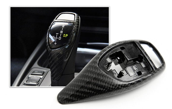 Carbon Fiber Gear Selector Cover  (LHD vehicle only)