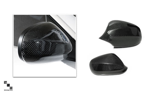 Carbon Fiber Mirror Covers for BMW F20 1 Series, F22 2 Series, F3X 3 Series, F3X 4 Series, E84 X1