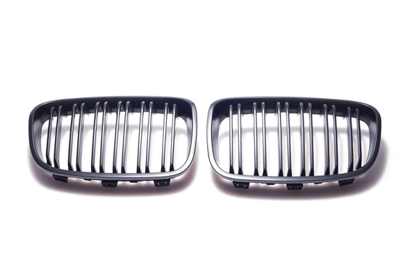 Black Kidney Grilles for BMW F20/F21 1 Series
