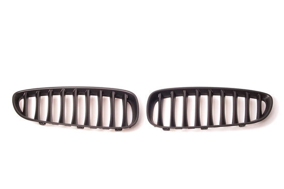 Matte Black Kidney Grilles for BMW E89 Z4