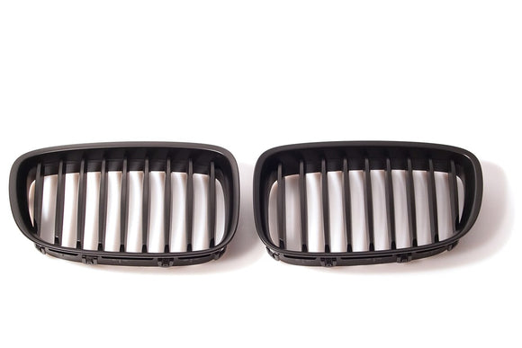 Black Kidney Grilles for BMW F07 5 Series