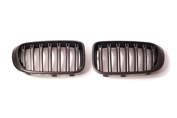 Black Kidney Grilles for BMW F25 X3 (LCI)