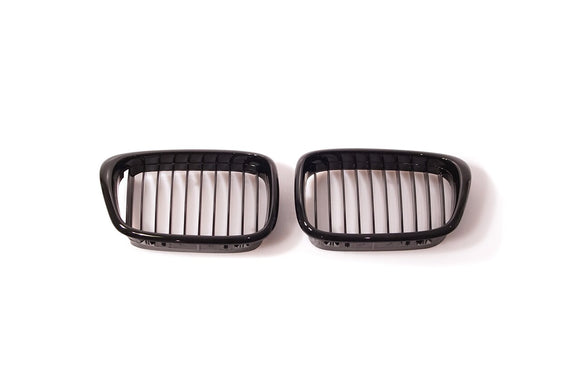 Black Kidney Grilles for BMW E39 5 Series