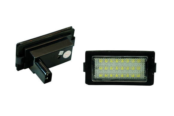 WeissLicht LED License Plate Light Kit for BMW E38 7 Series