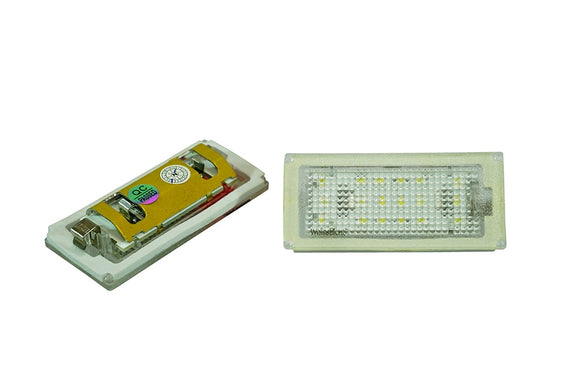WeissLicht LED License Plate Light Kit for BMW E46 3 Series Coupe (LCI)