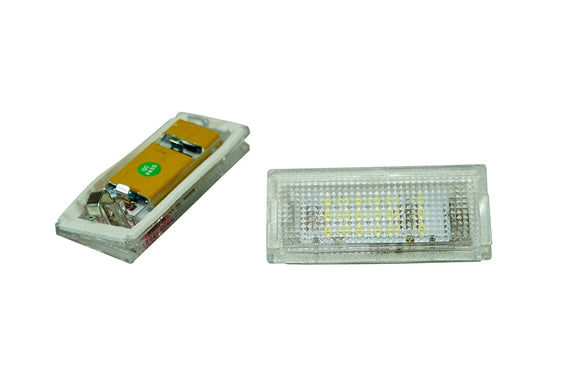 WeissLicht LED License Plate Light Kit for BMW E46 3 Series Sedan and Touring