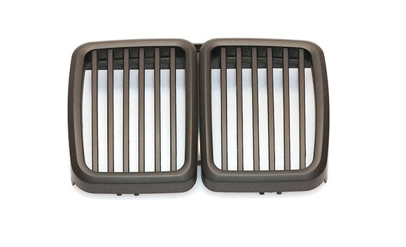 Black Kidney Grilles for BMW E30 3 Series